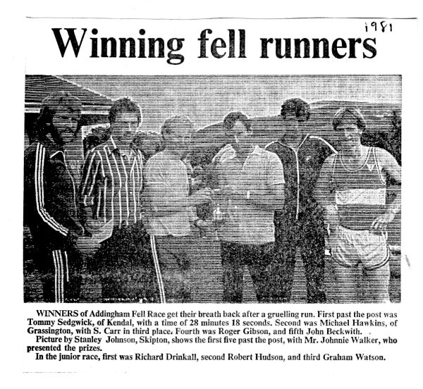 Press Clipping, Mick Hawkins